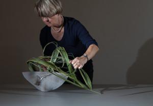 Mit nur einem Material: Neuseelandflachs - Vorführung